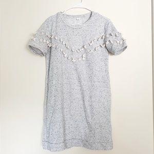 Caslon Sweater Dress with Tassel Detail